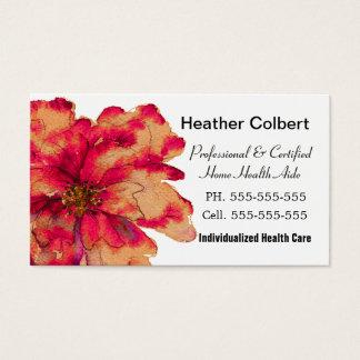 Pinte-me cuidador do outono profissional cartão de visitas
