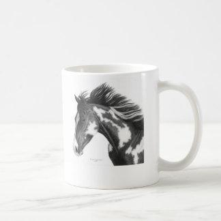 Pinte o cavalo canecas