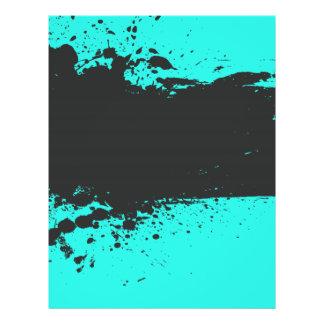 Pinte o insecto do partido do Splatter Modelo De Panfletos