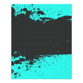 Pinte o insecto do partido do Splatter Panfletos Coloridos