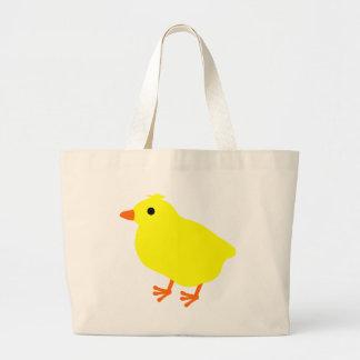 Pintinho bonito da páscoa bolsas para compras
