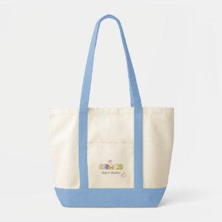 Pintinho da páscoa bolsas para compras