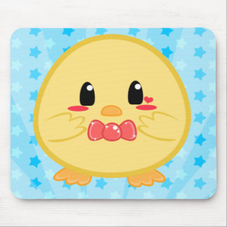 Pintinho do bebê - menino Mousepad