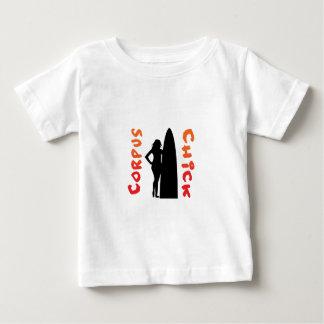 pintinho do corpus camiseta para bebê