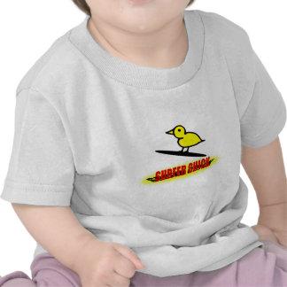 Pintinho do surfista camiseta