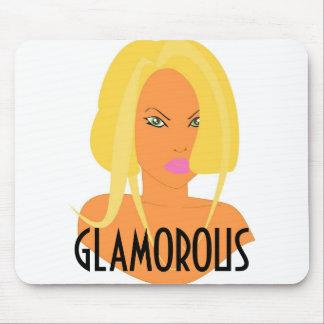 Pintinho louro glamoroso Mousepad