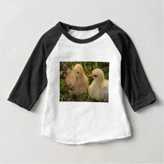 Pintinhos Camiseta Para Bebê