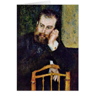 Pintor Alfred Sisley por Pierre-Auguste Renoir Cartões