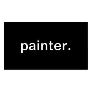 Pintor Cartao De Visita