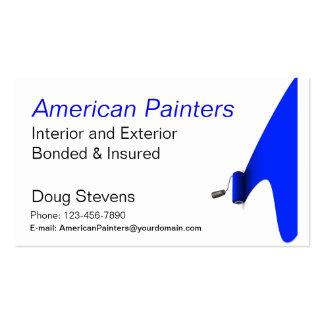 Pintor Modelos Cartão De Visita