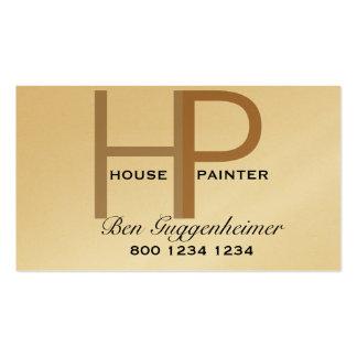Pintor de casa de HP Cartão De Visita