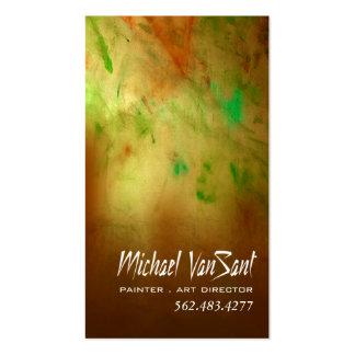"""Pintor do """"abstrato"""", artista gráfico, diretor de  cartões de visitas"""