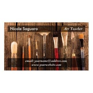 Pintor do artista cartão de visita