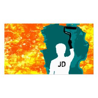 pintor profissional cartão de visita