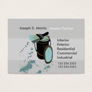 Pintores de casa relativos à promoção cartão de visitas