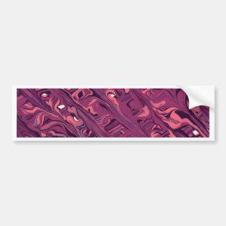 Pintura abstrata adesivo para carro