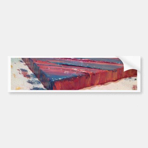 Pintura abstrata adesivo