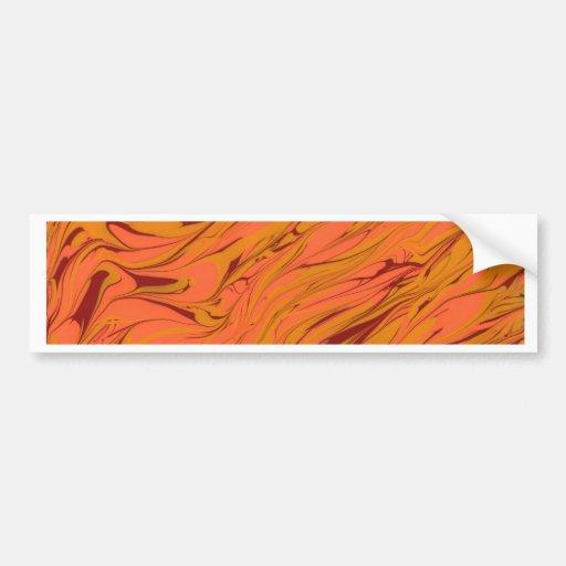 Pintura abstrata adesivos