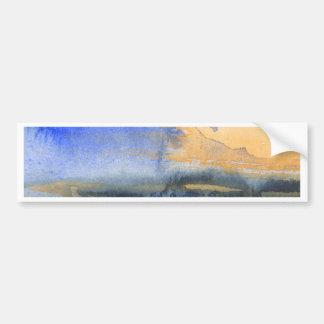 Pintura abstrata da aguarela adesivo