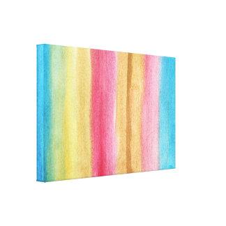 pintura abstrata da aguarela impressão de canvas envolvidas