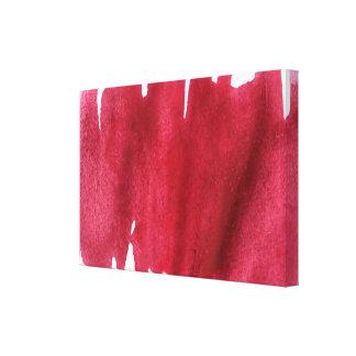 pintura abstrata da aguarela impressão em tela