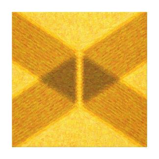 Pintura abstrata geométrica - AB-0061F