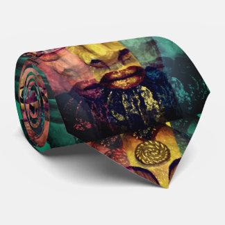Pintura bonita da deusa egípcia gravata