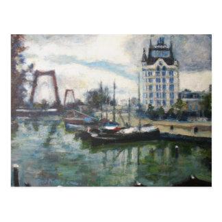Pintura branca das belas artes de Rotterdam da Cartão Postal
