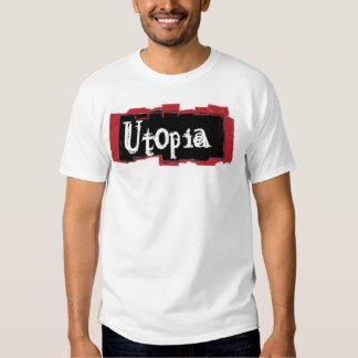 Pintura da cor de Utopia Camisetas