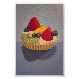Pintura da galdéria da fruta impressão de foto