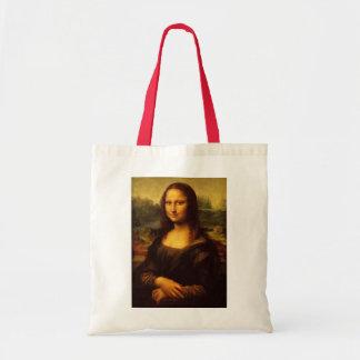 Pintura das belas artes de Leonardo da Vinci Mona Sacola Tote Budget