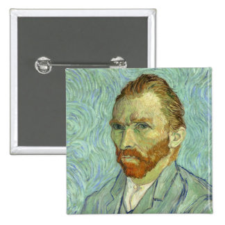 Pintura das belas artes do retrato de auto de bóton quadrado 5.08cm