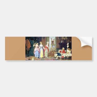 Pintura das benevolências do Victorian três das Adesivo Para Carro