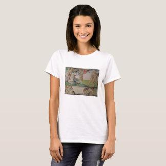Pintura de Michelangelo na camisa