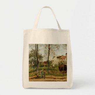 Pintura de Pissaro no bolsa do mantimento