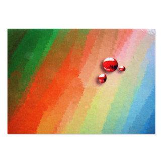 pintura de varias cores modelos cartoes de visita