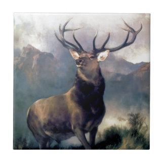 Pintura do animal selvagem dos alces