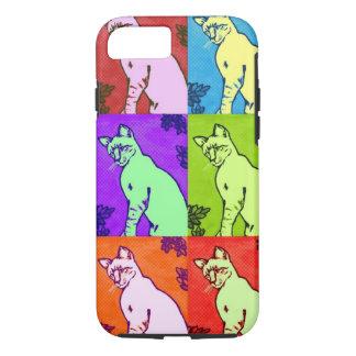 Pintura do gato Siamese de Colorpoint - capa de
