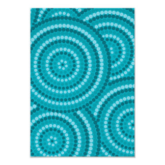 Pintura do ponto do aqua do recife convite 8.89 x 12.7cm
