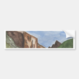 Pintura do vale de Yosemite Adesivo Para Carro