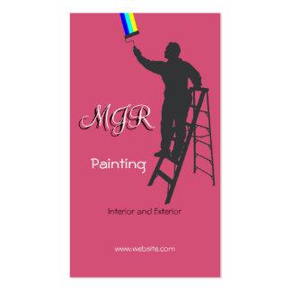 Pintura e decoração cartão de visita