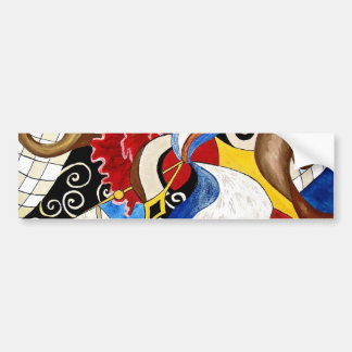 Pintura espanhola da arte abstracta adesivos