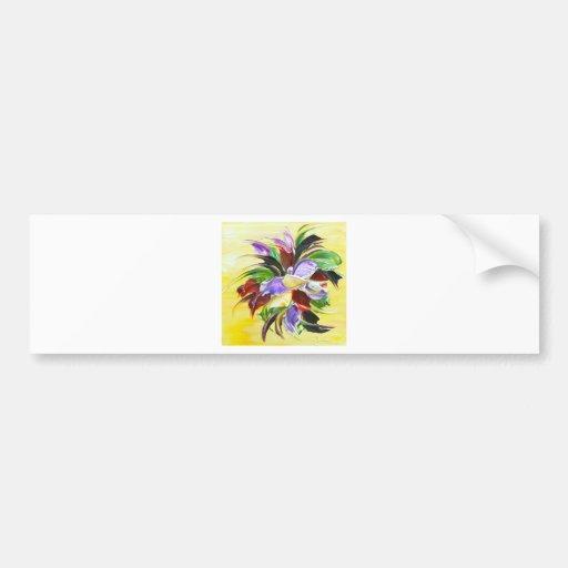 pintura floral adesivos