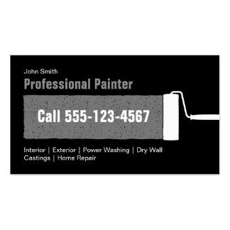 Pintura Home profissional feita sob encomenda Cartão De Visita