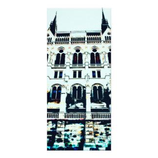 Pintura húngara do parlamento panfleto