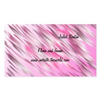 Pintura macia dos rosa como os trabalhos de arte cartão de visita