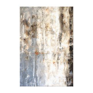 """Pintura neutra """"perspicaz"""" da arte abstracta impressão em canvas"""