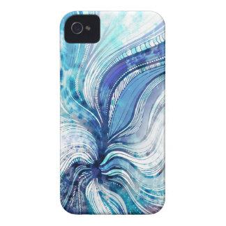 Pintura no cobrir da textura do Splatter da Capa Para iPhone 4 Case-Mate