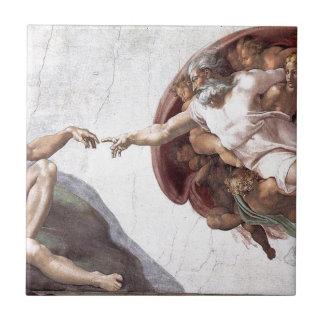 Pintura original de Michelangelo na capela Roma do