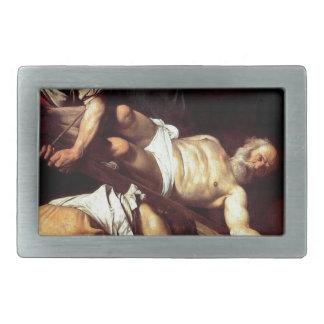 """Pintura original """"La crocifissione di s Pietro """""""